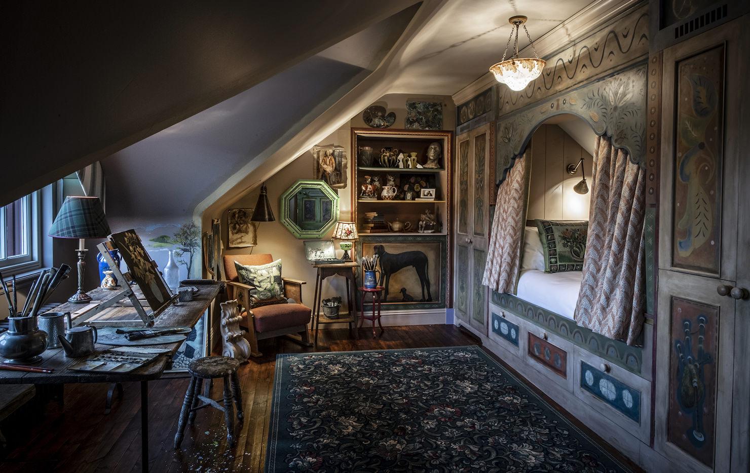 Artist S Studio Art Retreat In Scotland The Fife Arms